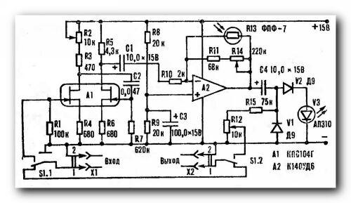 дана схема компрессора для