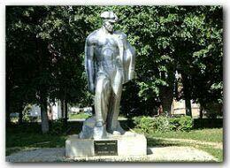 Памятник Шахтёру в г.Узловая