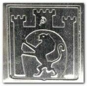 Герб Львова на струнозацепе