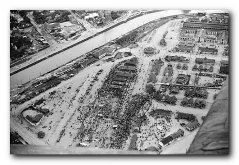 Аэрофотосъёмка 1943 года