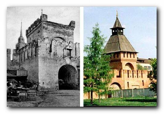 башня Пятницких ворот